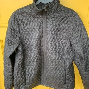 Land's End Lightly Down Zip Up Jacket